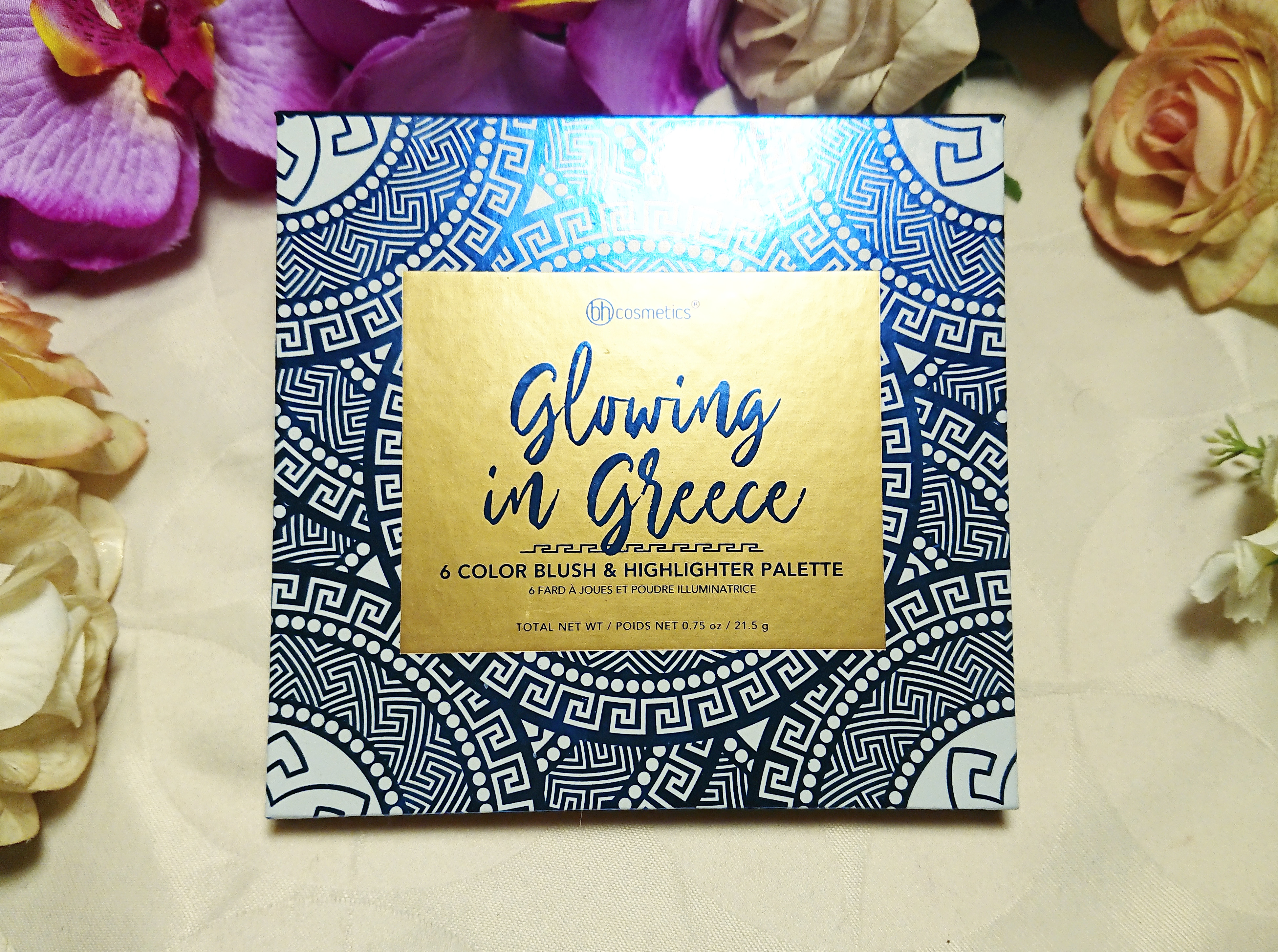 Glowing In Greece - 6 Color Blush & Highlighter Palette by BH Cosmetics #9